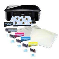 Printer Canon Pixma IP4950 + 1 set Cartidges + Frostysheets