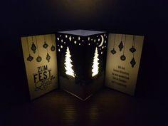 Karte - Stampin' Up! - Weihnachten - Wie ein Weihnachtslied, Alle guten Wünsche und Weihnachtliche Etiketten - Flüsterweiß, Wildleder, Gartengrün und Marineblau