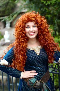 Disney Cosplay, Disney Costumes, Merida Cosplay, Princess Merida, Disney Princess, Disney Face Characters, Hottest Redheads, Cute Girl Photo, Beautiful Redhead