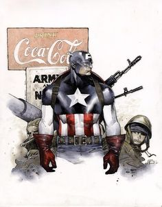 Captain America by Olivier Coipel