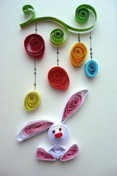 Quilled bunny