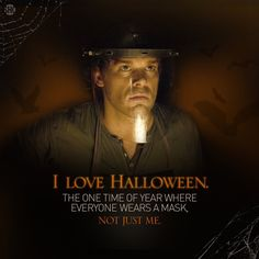 He's smart, he's good looking, and he's got a great sense of humor. He's Dexter Morgan, everyone's favorite serial killer. Dexter Halloween, Halloween Quotes, Happy Halloween, Dexter Morgan Quotes, Dexter Tv Series, Movie Quotes, Funny Quotes, Tv Quotes, Debra Morgan