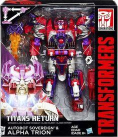 Transformers Generations Titans Return Alpha Trion Voyager Class