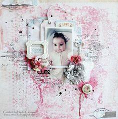 September Scraps Of Elegance Kit, Fabscraps, Prima, Delight, Nadia Cannizzo