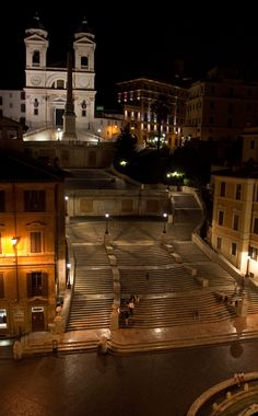 Amazing Places           - Spanish Steps - Rome - Italy (byPhillip Capper)