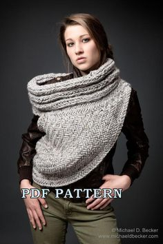 Katniss Everdeen Cowl by Kysaa pattern on Craftsy.com