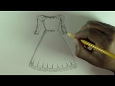 how to design a dress - YouTube