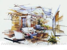 Interior Design Sketches Kitchen ny kitchen commission, jacquie cao design, michelle morelan