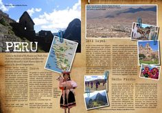 Image result for travel magazine spreads