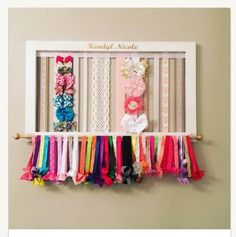 Welcome to Southern Plank Crafts. We specialize in bringing your craft idea to life with an added touch of warmth and charm from the South. We want each of our items to be as unique as the person ordering them and we welcome personalization and customization!  Our Beautifully framed, Cottage White Bow Holder is the perfect addition to any little girls room. The frame is built by hand in our shop to ensure a quality product that is built to last. The size is 27 x 17 and includes 11 ribbon…