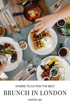 Looking for the best brekkie in London town? Fancy indulging in a bottomless weekend brunch? When in London, these are the breakfast hotspots to enjoy. From restaurants to cafes to hotels, here's where to find the best brunch in London. Indian Food Recipes, Asian Recipes, Essen In London, Japenese Food, Brunch Spots, London Food, London Restaurants, Vegan, Best Breakfast