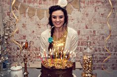 Chocolate + Gold Sparkling 30th Birthday {Party Inspiration} | The TomKat Studio
