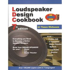 Your Price $33.95 Loudspeaker Design Cookbook 7th Edition Book