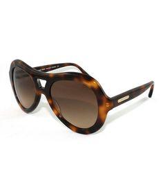 Look at this #zulilyfind! Brown Kensington Sunglasses by Michael Kors #zulilyfinds