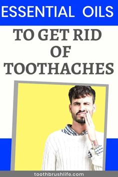Essential Oils to get rid toothaches. Cure for toothache. Essential oils to help improve oral health and heal teeth. Advice from a dental hygienist. Oral Health, Health Tips, Health Care, Tooth Pain, Tooth Ache, Braces Pain, Dental Hygienist, Dental Problems, Oral Hygiene