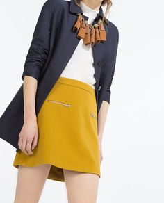 Image 5 of A-LINE SKIRT from Zara