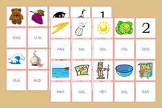 tarjetas serie rosa castellano