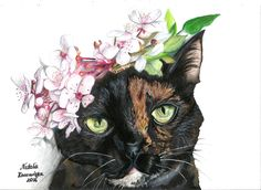Cat - Natalia Karmańska https://www.facebook.com/nataszarysuje/ insta: @nataszakatasza