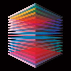 A selection of kaleidoscopic and geometric works by New York-based artist Andy Gilmore. Graphic Design Art, 3d Design, Graffiti, Principles Of Design, Generative Art, Elements Of Art, Geometric Art, Geometric Drawing, Op Art
