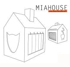#miahouse #cat #game #cartboard #design