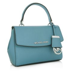 d748d69e54f05 Michael Kors Ava XS Crossbody Bag Sky in blau