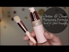 Making Up the Midwest: Review & Demo: Physicians Formula Nude Wear Touch of Glow Foundation