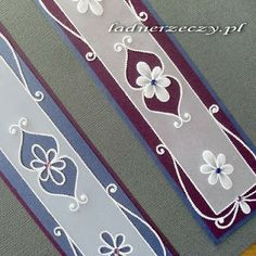 parchment craft - bookmarks