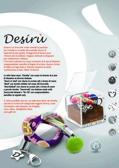 New Brochure!! #desirù #kimono #desirumilano #fashion #bracelet