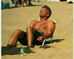 Hey don't sink in to the sand! We need ya Jon! My True Love, My Love, Bon Jovi Pictures, I Want Him, Jon Bon Jovi, Love You More, Most Beautiful Man, Man Alive, Johnny Depp