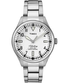 TIMEX Waterbury Traditional 40mm Stainless Steel Watch. #timex #