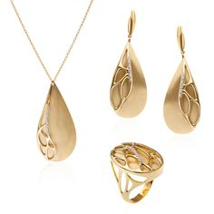 """Paul Dumont 18K """"Nature in Gold"""" Collection"""