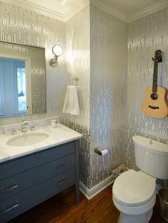 178 Best Elegant Powder Rooms Images In 2019 Bathroom