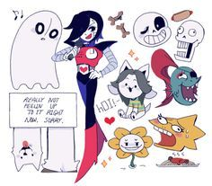 undertale characters - Google Search