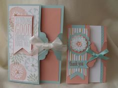 Stamping Every Day: Scalloped Tag Topper Cards.