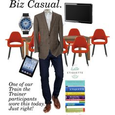 Biz Casual for Train the Trainer, created by professionality on Polyvore