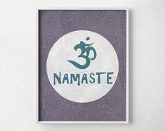 Hey, I found this really awesome Etsy listing at https://www.etsy.com/listing/179149734/namaste-om-print-yoga-print-yoga-studio
