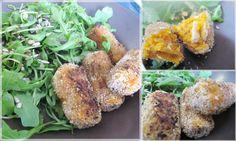 Recette inspirée de celle du blog de Lili's Kitchen qui s'est elle même inspirée de celle de Marie Laforêt (et son magnifique site 100% végétal). • 1 grosse patate douce en purée (environ 150g) • 125...