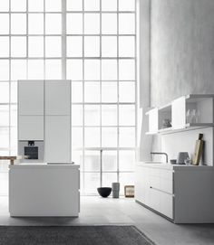 B1 #Kitchen with island by Bulthaup