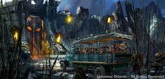 """ORLANDO, Fla. (6 de maio de 2015) - O King Kong vai dominar no Universal Orlando Resort no próximo ano em uma espetacular atração: """"Skull Island: Reign of Kong"""". A nova atração será inaugurada no verão americano de 2016 no parque Universal's Islands of Adventure e..."""