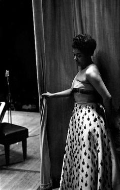 Sarah Vaughan. New York, 1950.