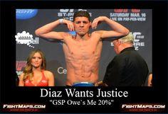 Nick Diaz`s Camp Wants Justice - MMA News