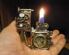Steampunk lighter