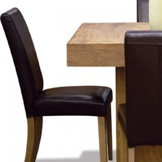 Stone Leather Dining Chair