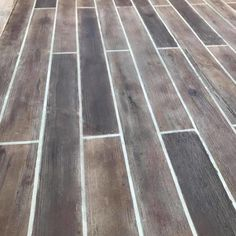 Wood Grain Concrete Floors and Driveways - Direct Colors Inc.