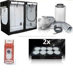 HOMEbox® Evolution R240. LED 560w Gardening
