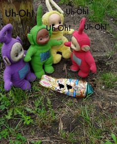 One day in Teletubbieland, the Teletubbies made a gruesome discovery! | Momfever