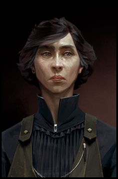 ArtStation - Concept art for Dishonored 2, Sergey Kolesov
