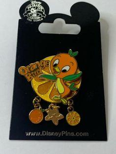 Orange Bird Dangle Walt Disney World Cast Member Exclusive Pin from 2016 New on Card. Disney Trading Pins, Disney Pins, Disney Mickey, Disney Art, Walt Disney, Disney Connections, Disney Pin Collections, Orange Bird, Good Morning Sunshine