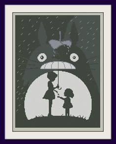 My Neighbour Totoro Cross Stitch Pattern BOGO by MagicStitching