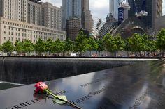 Mémorial du 11-Septembre : bassin Nord